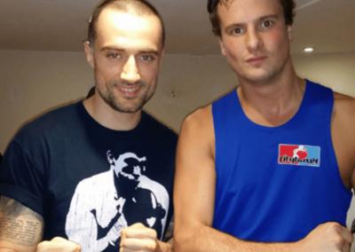 Amateur boxing coach